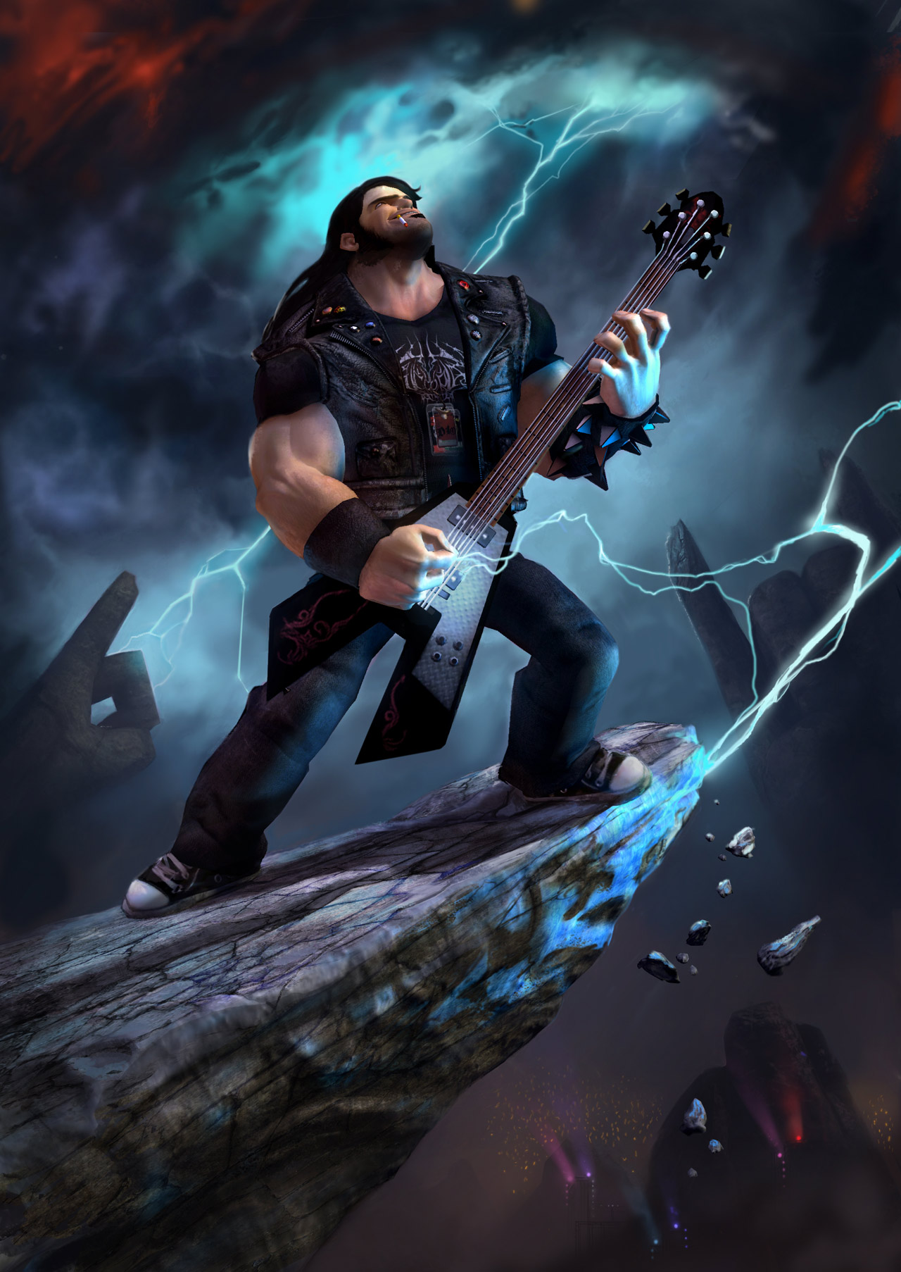 Foto:Gamer Spoiler te deseja um Feliz dia Do Rock.