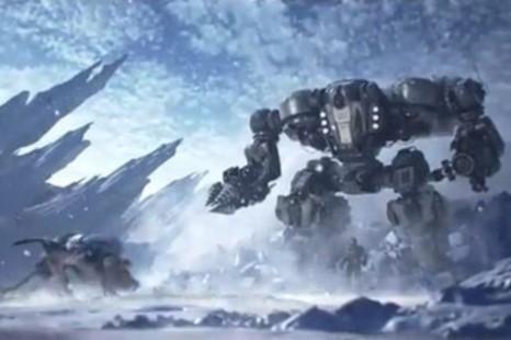 Foto(Divulgação): Inimigos em Lost Planet 3 terão o triplo do tamanho do protagonista.