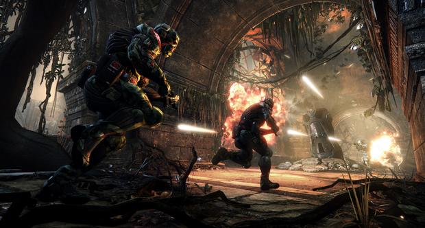 Foto(Divulgação): Um trailer do Hunter Mod de Crysis 3 foi  a GamesCom 2012.