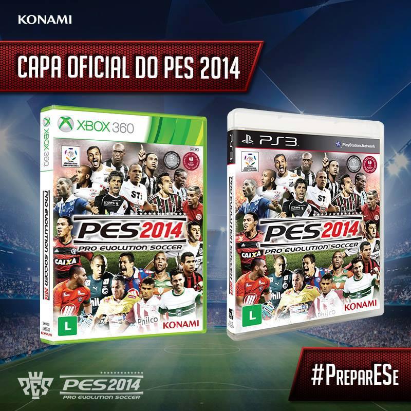 Pes 2013 Pc Edições Evolution: Konami Revela As Capas Do Pro Evolution Soccer (PES) 2014