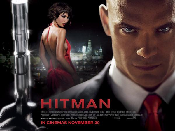 Hitman movie poster UK
