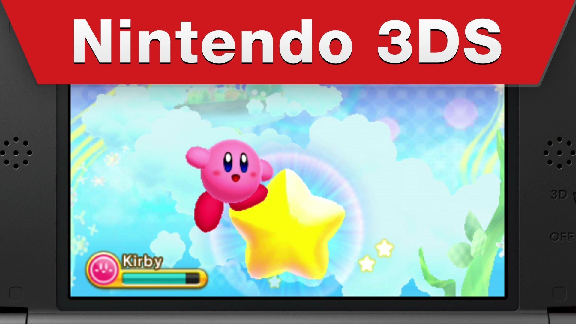 Kirby Triple Deluxe será lançado no dia 2 de maio; Trailer
