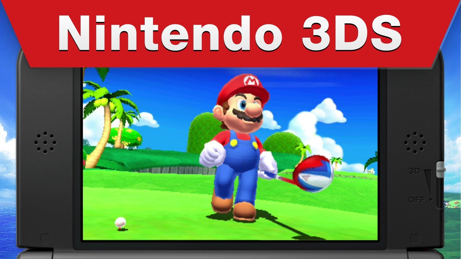 Mario Golf World Tour chega as lojas no dia 2 de maio .