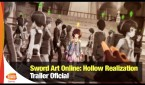 Bandai Namco libera novo trailer de Sword Art Online: Hollow Realization