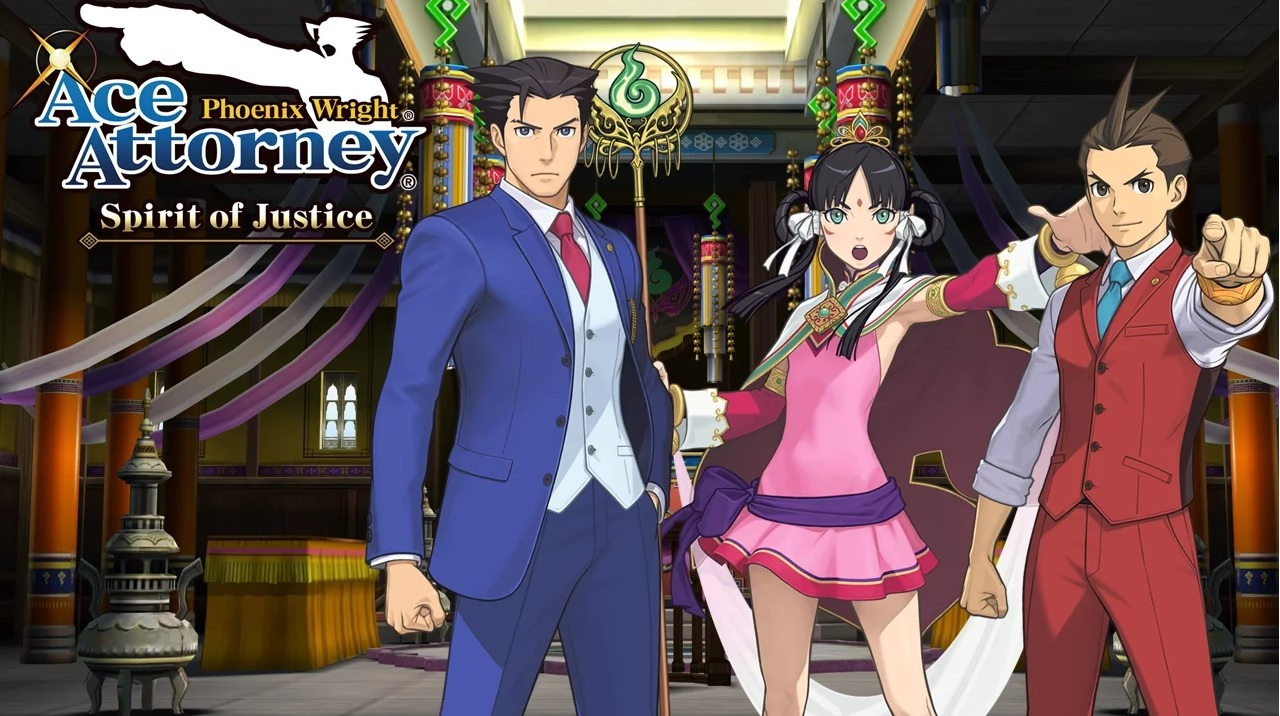 Phoenix Wright Ace Attorney - Spirit of Justice