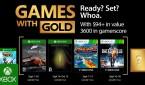 Games with Gold de setembro chega em alta velocidade