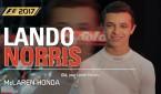 LANDO NORRIS FAZ UM TEST DRIVE EM F1™ 2017