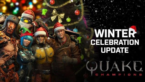 Quake Champions – Atualização de dezembro JÁ DISPONÍVEL