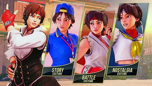 street-fighter-v-arcade-edition-sakura-roupas-dlc-modo-história-battle-nostalgia-normal